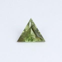 6,7mm Triangle Green Sapphire