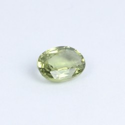 0,66ct Oval Green Sapphire