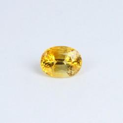 0.79ct Yellow Sapphire