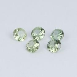 4mm Green Sapphire
