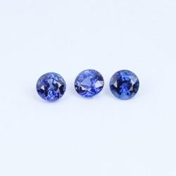 3,7mm Blue Sapphire