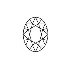 7x5mm Oval Rhodolite Garnet
