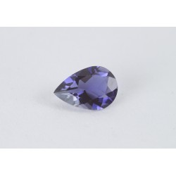 7x5mm pendeloque Iolite