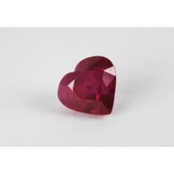 1.434ct Ruby 6,7x6,2mm Heart