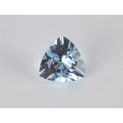 0.705ct Aquamarine Trillion