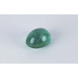 2.47ct Emerald oval cab.