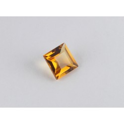 5x5mm Square Citrine