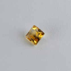 4x4mm Square Citrine