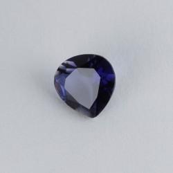 7x7mm Heart Iolite