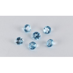 3mm Sky Blue Topaz