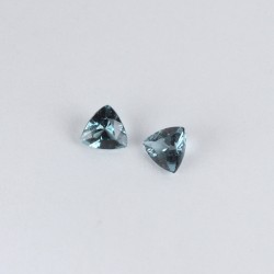 Trillion spinel pair 0.356ct