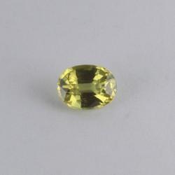0.7ct Yellow Sapphire