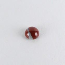 5mm round Jasper