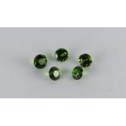 2.5mm Round Chrome Diopside