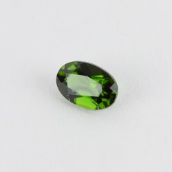 6x4mm Oval Chrome Diopside