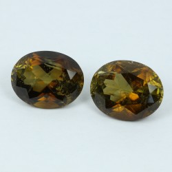 9.377ct Oval Tourmaline pair