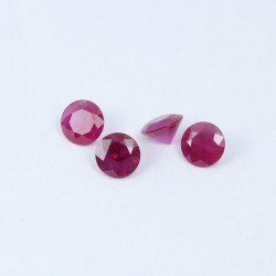 3.5mm Round Ruby